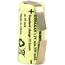 XCell X1/2AAAH-350-LFU specialni akumulatorji 1/2 aaa u-spajkalni priključek nimh 1.2 V 350 mAh