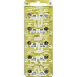 Renata 362.MP-E gumbasta baterija 362 srebrovo-oksidni 24 mAh 1.55 V 10 St.