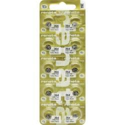 Renata 364.MP-E gumbasta baterija 364 srebrovo-oksidni 20 mAh 1.55 V 10 St.