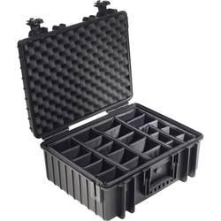 B & W Kutija za van outdoor.cases Typ 6600 26 l Crna 6000/B/RPD