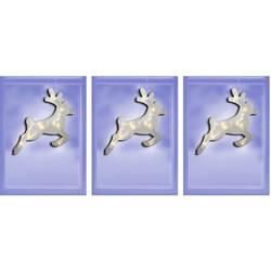 Severni jelen 3-delni komplet Topla bela LED Polarlite LBA-50-018 Transparentna