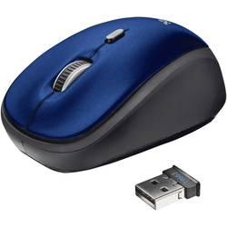 Trust YVI bežični wlan miš optički plava boja