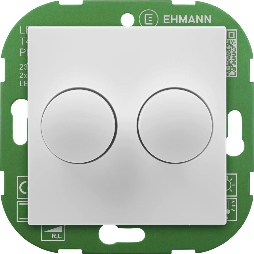Ehmann 4295x0700 rotacijski zatemnilnik Primerno za svetilke: LED žarnica, klasična žarnica, halogenska žarnica bela (ral 9016)