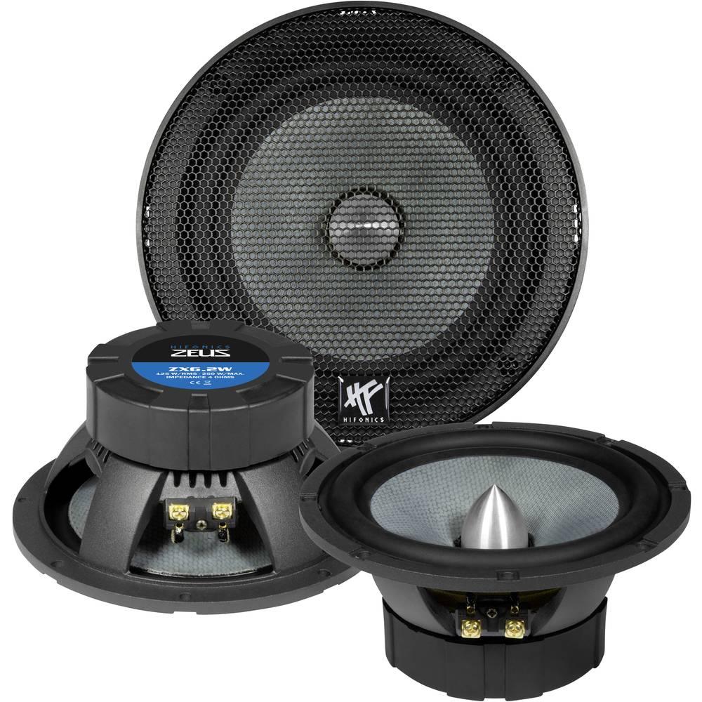 Hifonics ZX-6.2W 2-sistemski koaksialni zvočniki za vgradnjo 250 W Vsebina: 1 KOS