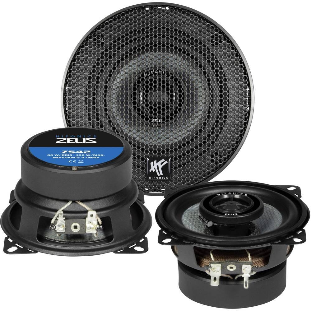 Hifonics ZS-42 2-sistemski koaksialni zvočniki za vgradnjo 120 W Vsebina: 1 KOS