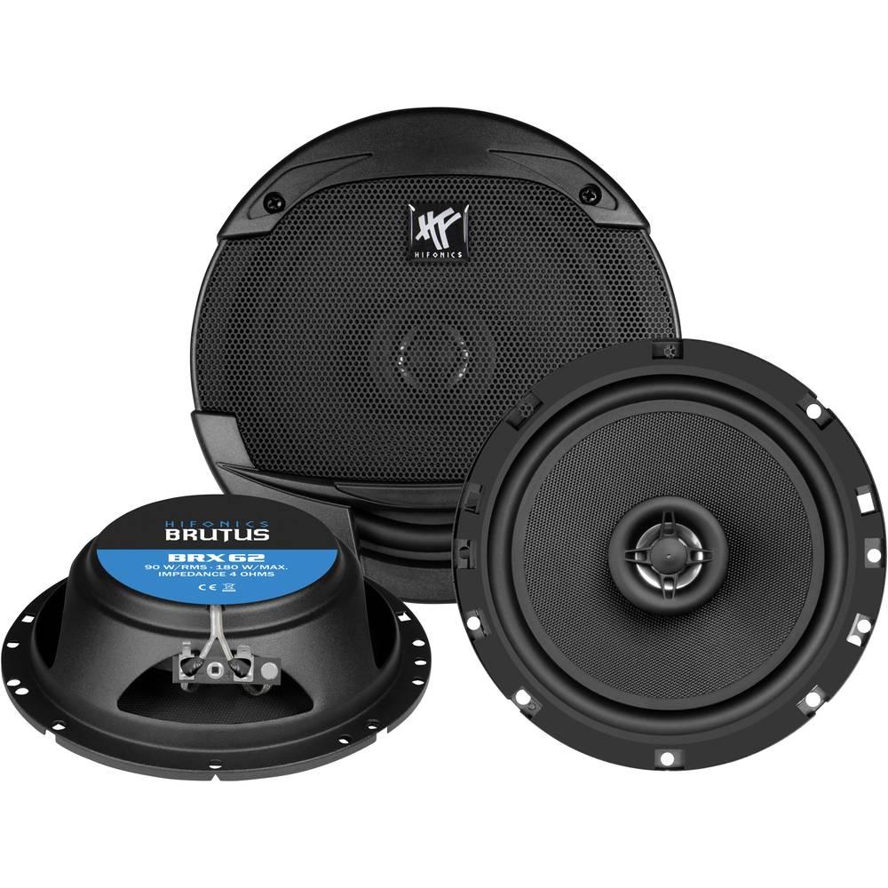 Hifonics BRX-62 2-sistemski koaksialni zvočniki za vgradnjo 180 W Vsebina: 1 kos