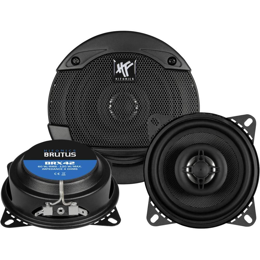 Hifonics BRX-42 2-sistemski koaksialni zvočniki za vgradnjo 120 W Vsebina: 1 kos