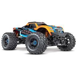 Traxxas Maxx TSM SR oranžna brez ščetk RC modeli avtomobilov elektro monster truck pogon na vsa kolesa (4wd) RtR 2,4 GHz