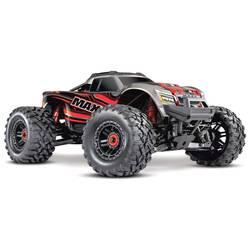 Traxxas Maxx TSM SR rdeča brez ščetk RC modeli avtomobilov elektro monster truck pogon na vsa kolesa (4wd) RtR 2,4 GHz