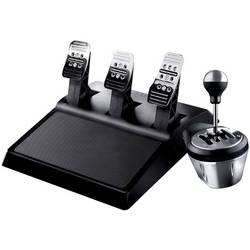 Thrustmaster TH8A & T3PA Race Gear prestavna ročica USB PC, PlayStation 3, PlayStation 4, Xbox One srebrna vklj. pedala