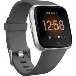 uređaj za praćenje aktivnosti FitBit Versa Lite ugljen boja, srebrna