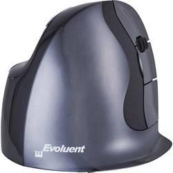BakkerElkhuizen Evoluent D Small bežični wlan miš ergonomski antracitna boja