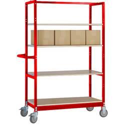 Manuflex TV1052.3003 TV1052.3003 etažni voziček rubinasto rdeča