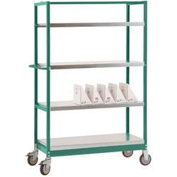 Manuflex TV3141.0001 TV3141.0001 etažni voziček siva, zelena