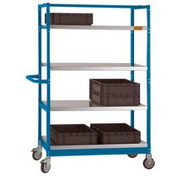Manuflex LV3111.5007 LV3111.5007 esd etažni voziček brilijantno modra (ral 5007)