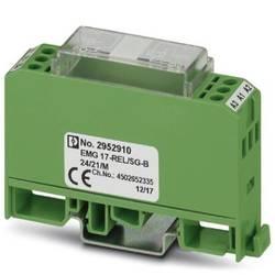 relejni modul 1 St. Phoenix Contact EMG 17-REL/SG-B 24/21/M Nazivni napon: 24 V/DC Prebacivanje struje (maks.): 6 A 1 prebacivan
