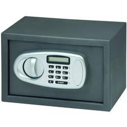 Basi 2115-0001 trezor zaklepanje s številčnico, zaklepanje s ključem