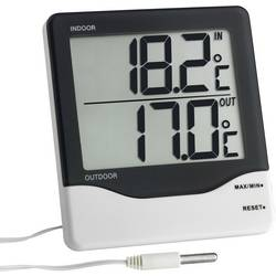 TFA Dostmann žičani termometar crno-bijela