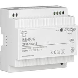 Zamel ZPM-100/12 prekidač napajanja 12 V 8.33 A 60 W 1 x