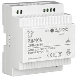 Zamel ZPM-60/24 prekidač napajanja 24 V 2.5 A 100 W 1 x