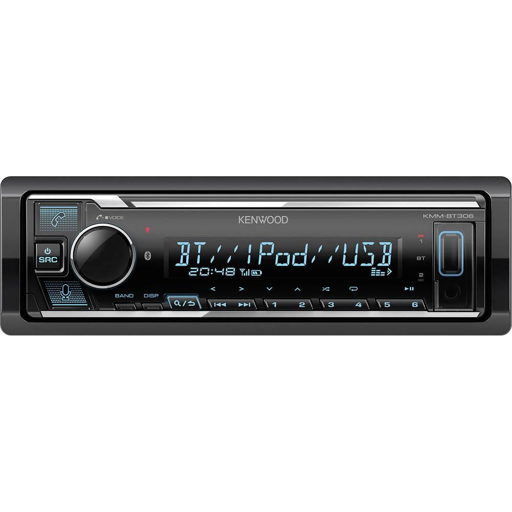 Kenwood KMM-BT306 avtoradio priključek za volanski daljinski upravljalnik, Bluetooth® komplet za prostoročno telefoniranje