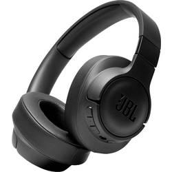 JBL Harman TUNE 750 BTNC Bluetooth® hifi over ear slušalke over ear zložljive, odpravljanje šumov črna