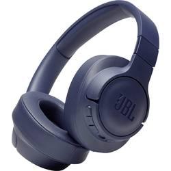 JBL Harman TUNE 750 BTNC Bluetooth® hifi over ear slušalke over ear zložljive, odpravljanje šumov modra