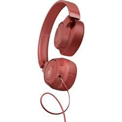 JBL Harman TUNE 750 BTNC Bluetooth® hifi over ear slušalke over ear zložljive, odpravljanje šumov koralna