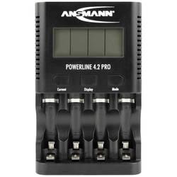 Ansmann Powerline 4.2 Pro nikalj-kadmijev, nikalj-metal-hidridni micro (AAA), mignon (AA) punjač okruglih stanica