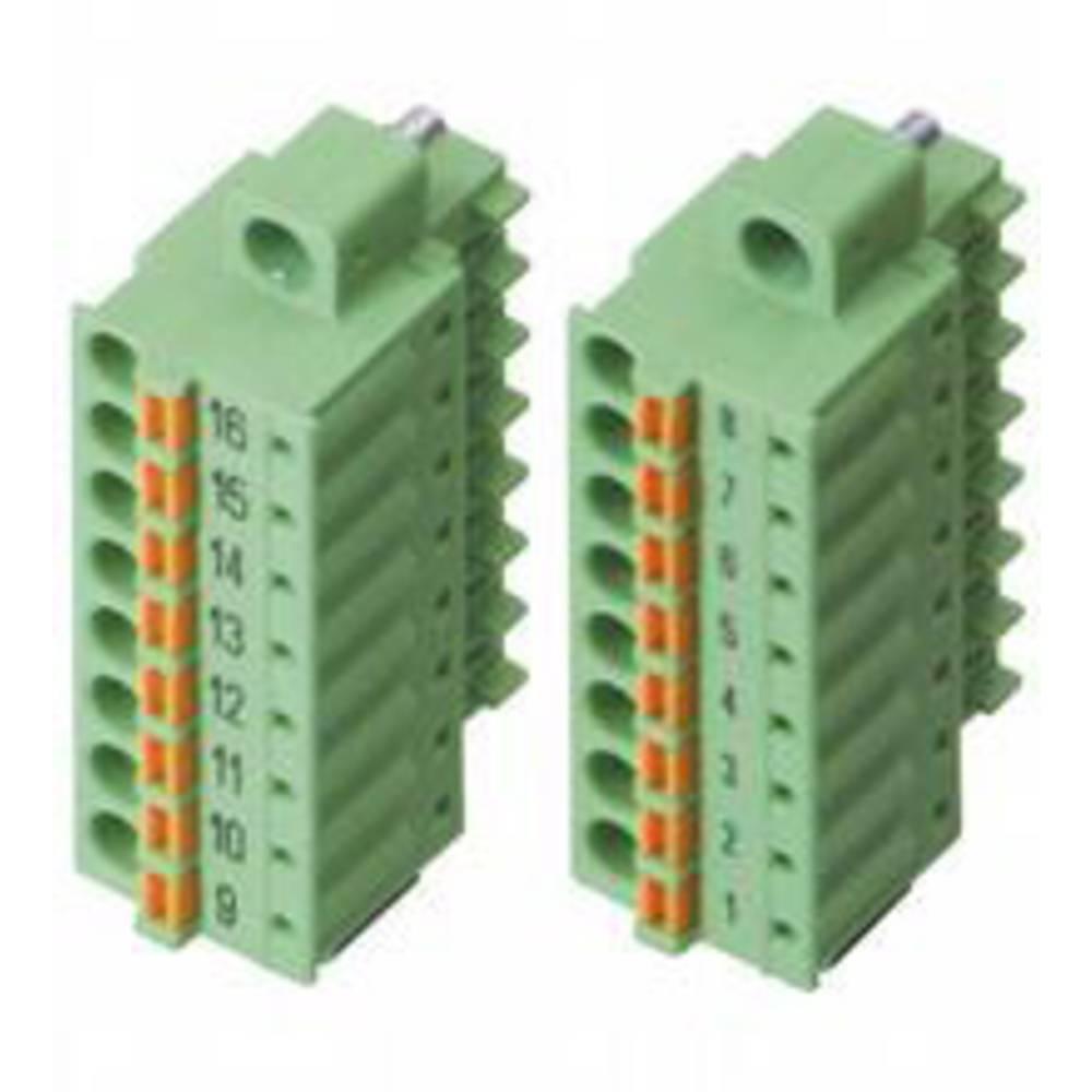 Pepperl+Fuchs 542019 povezovalna sponka zelena 1.5 mm² 8 A 160 V