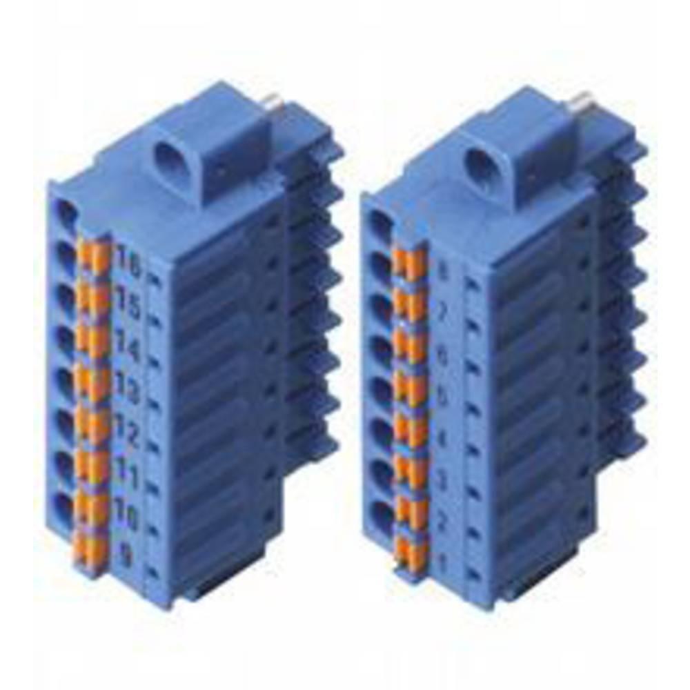 Pepperl+Fuchs 542054 povezovalna sponka modra 1.5 mm² 8 A 160 V