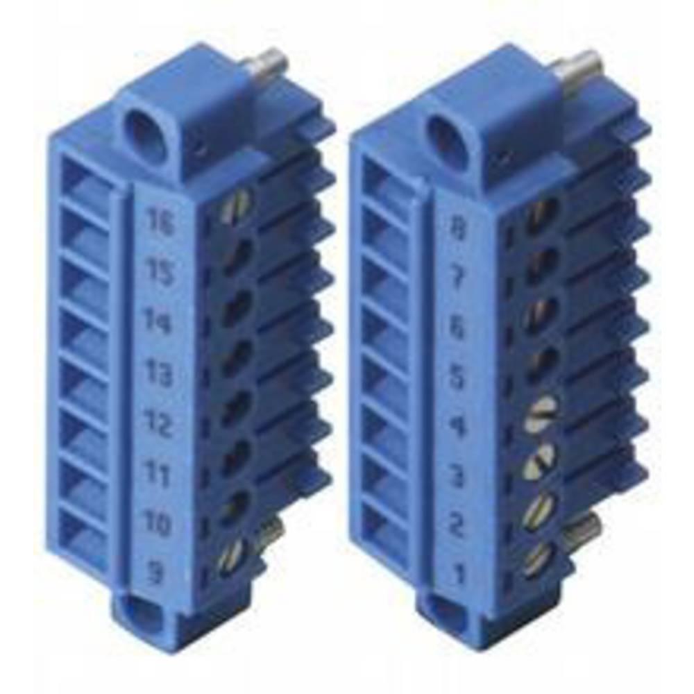 Pepperl+Fuchs 542061 povezovalna sponka modra 1.5 mm² 8 A 160 V
