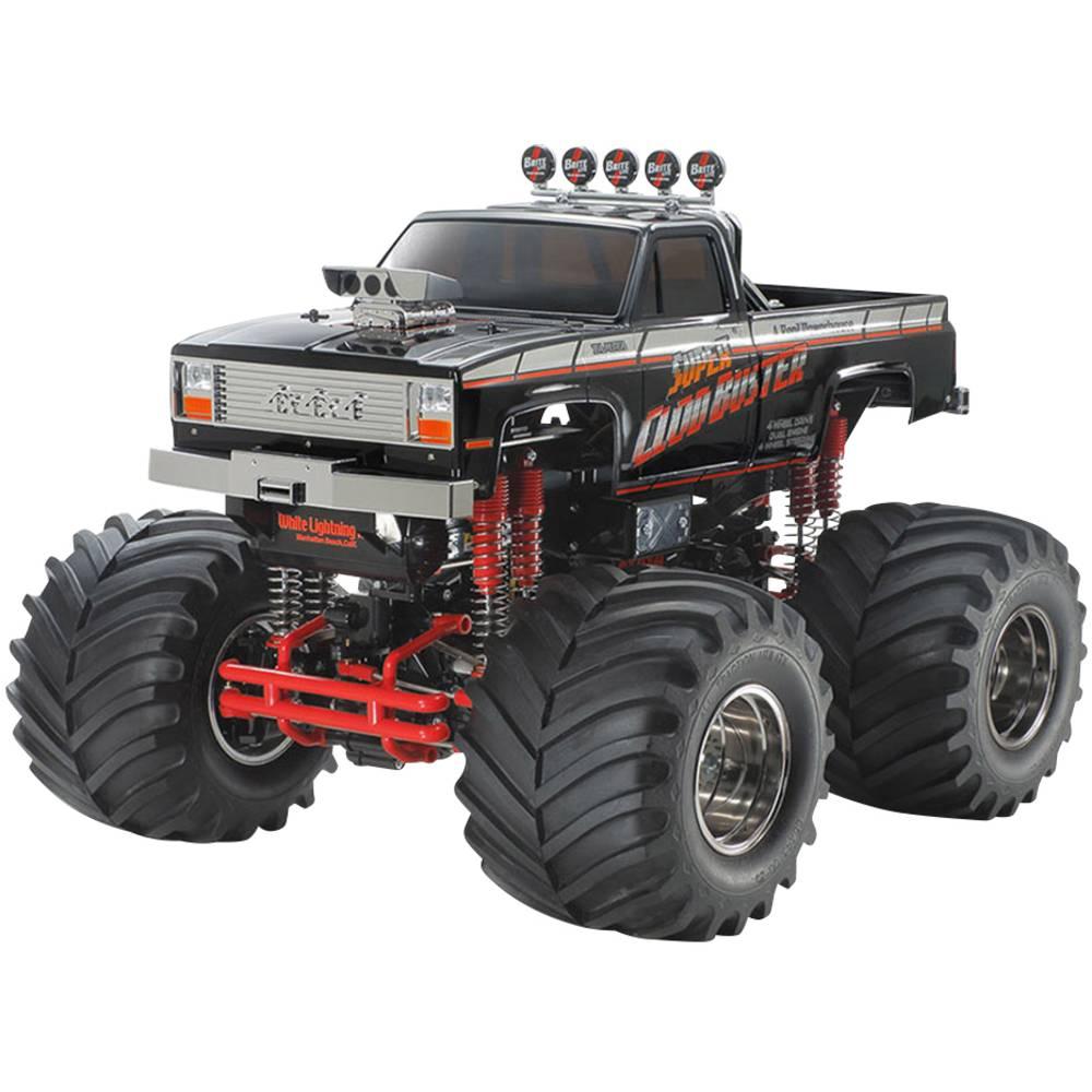 Tamiya Super Cloud Buster Black s ščetkami 1:10 RC Modeli avtomobilov Elektro Monster Truck Pogon na vsa kolesa (4WD) Komplet za