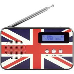 Reflexion TRA5005D+ GB namizni radio DAB+, UKW DAB+, UKW, USB natančne tipke