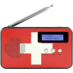 Reflexion TRA5005D+ CH namizni radio DAB+, UKW DAB+, UKW, USB natančne tipke