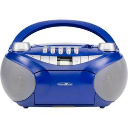 Reflexion cd radio UKW aux, cd, kaseta, UKW, USB natančne tipke modra