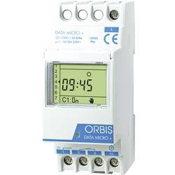 ORBIS Zeitschalttechnik DATA MICRO + 230V din časovna stikalna ura digitalno 250 V/AC