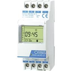 ORBIS Zeitschalttechnik DATA MICRO-2 + 230 V din časovna stikalna ura digitalno 250 V/AC