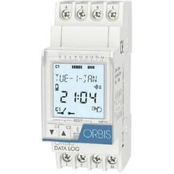 ORBIS Zeitschalttechnik DATA LOG 230 V din časovna stikalna ura digitalno 250 V/AC