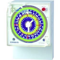 ORBIS Zeitschalttechnik CRONO QRD 230 V časovna stikalna ura za zunanjo uporabo analogno 250 V/AC