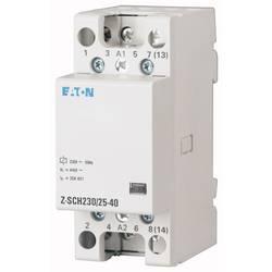instalacijski kontaktor 1 St. Eaton Z-SCH230/25-40 Nazivni napon: 230 V, 240 V Prebacivanje struje (maks.): 25 A 4 zatvarač