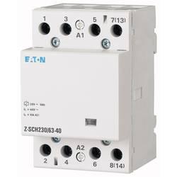 instalacijski kontaktor 1 St. Eaton Z-SCH230/63-40 Nazivni napon: 230 V, 240 V Prebacivanje struje (maks.): 63 A 4 zatvarač