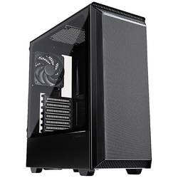 Phanteks Eclipse P300 Air midi-tower gaming ohišje črna 1 vnaprej nameščen ventilator, stransko okno, filter prahu