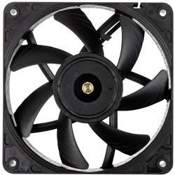 Noctua Noctua NF-A12x15 PWM chromax.black.swap ventilator za ohišje računalnika črna (Š x V x G) 120 x 120 x 15 mm