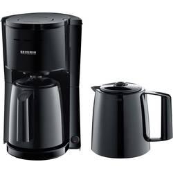 aparat za kavu Severin KA 9252 crna Kapacitet čaše=8 termosica, s funkcijom filter kave
