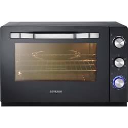 mini pećnica s ručnim podešavanjem temperature, funkcija tajmer, žičana, s kamenom za pizzu, funkcija optočnog zraka Severin TO