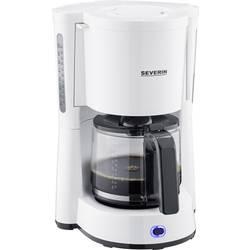 aparat za kavu Severin Type bijela Kapacitet čaše=10 stakleni vrč, s funkcijom filter kave