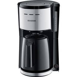 aparat za kavu Severin crna, plemeniti čelik (brušeni) Kapacitet čaše=8 termosica, s funkcijom filter kave