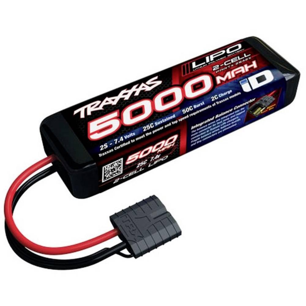 Traxxas LiPo akumulatorski paket za modele 7.4 V 5000 mAh Število celic: 2 25 C Škatlasto trdo ohišje Traxxas iD