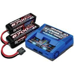 polnilnik akumulatorjev za modelarstvo 26 A Traxxas EZ-Peak Live Dual +2x LiPo-Akku litijev-polimerski, nikelj-metal-hidridni